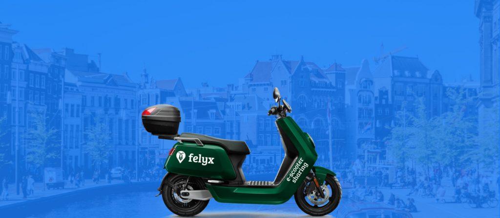 Gaiyo laat alle felyx scooters zien