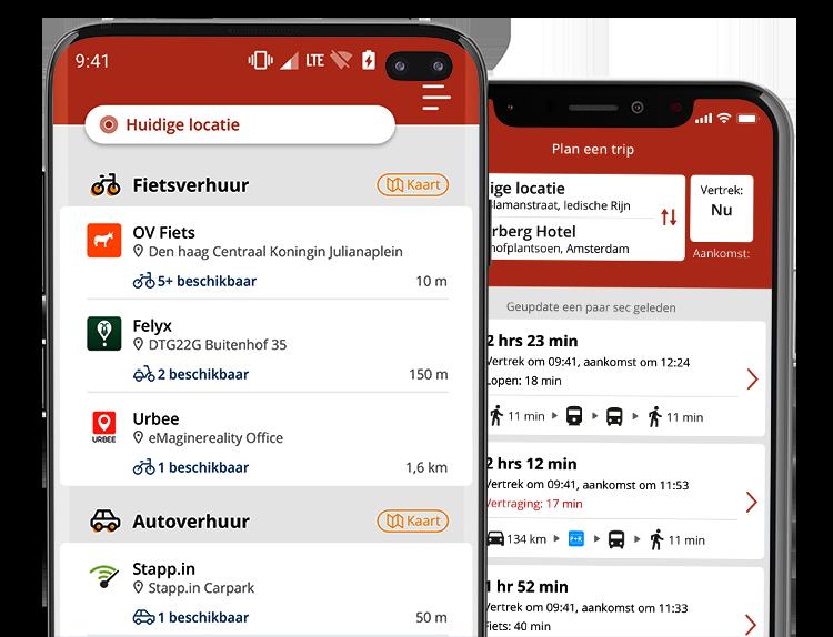 Gaiyo één app voor al je vervoer
