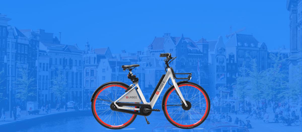 Plan, boek en betaal Urbee e-bikes met Gaiyo
