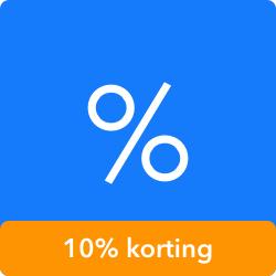 Gaiyo treinticket met 10% korting