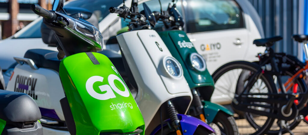 Populariteit deelscooters stimuleert scooterverkoop