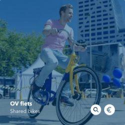 Combineer je treinreis met een OV-fiets
